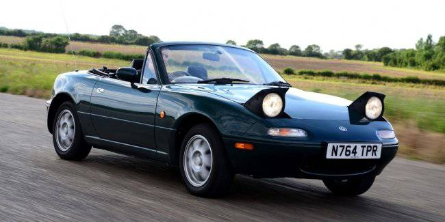 Mazda started to produce and sell spare parts for the legendary Miata