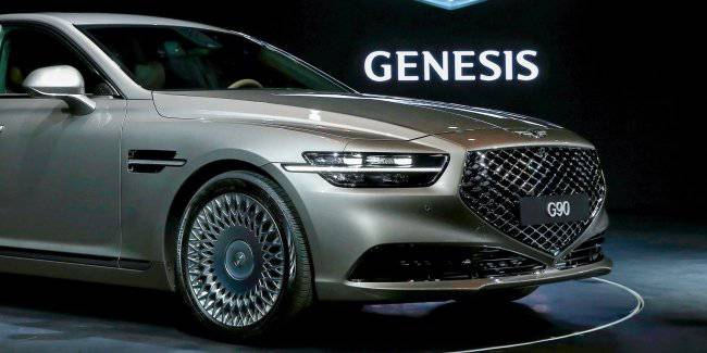 New Genesis G90 is preparing to debut in Los Angeles