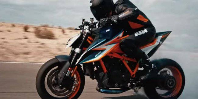 KTM has revealed a new naked 1290 Super Duke R