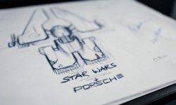 Porsche and Lucasfilm are working together on the design of the spaceship