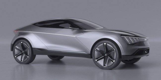 Appeared the first images of the coupe-crossover KIA space design