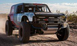 The racing prototype Ford Bronco R