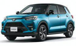 Toyota displays on the home market the most affordable crossover