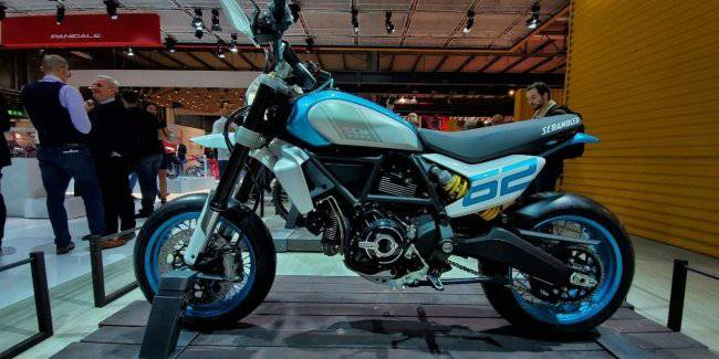 2019 EICMA: Ducati presented at its booth the entire range