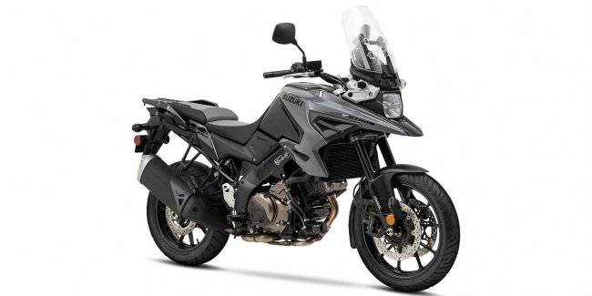 Suzuki upgraded the crossover V-Strom