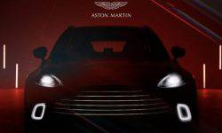 Named the price of the first crossover Aston Martin