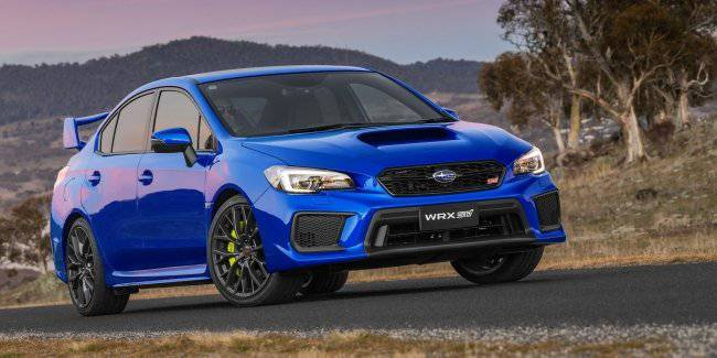 Subaru WRX STI after the change of generation may be left without two doors