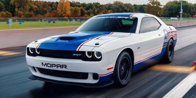 At SEMA showed the new Challenger Drag Pak