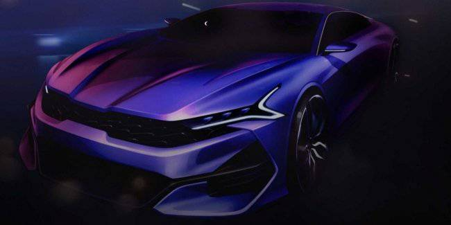 New KIA Optima revealed at the spectacular designs