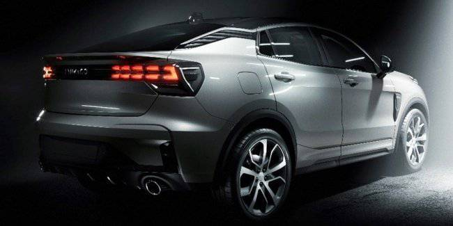 In the network appeared official images of the new SUV Lynk Co