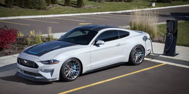 Ford made the Mustang 900-strong electric car