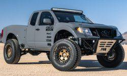 Nissan Navara: long-travel suspension and V8 engine