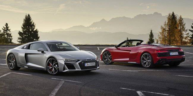 The Audi R8 was transferred to rear-wheel drive and made cheaper