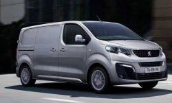 At Peugeot there was a commercial van on electric