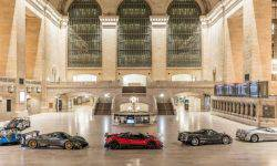 In the Central terminal in new York hosted an exhibition of supercars Pagani