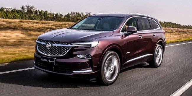 Other Buick Enclave: now Deluxe version, but still with the usual tidy