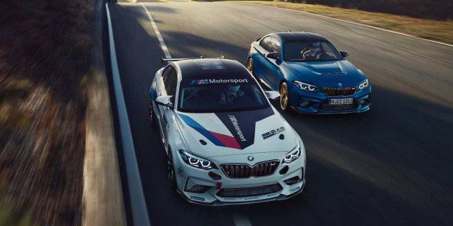 Extreme BMW M2 coupe CS quickly turned into a race car