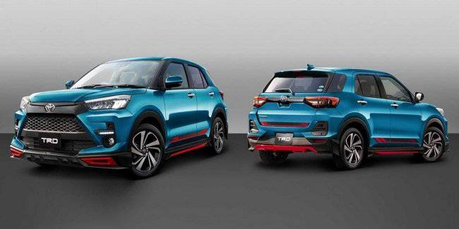 Compact crossover Toyota received its first tuning