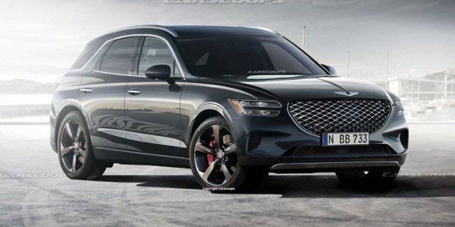 Published details about the new Genesis GV70