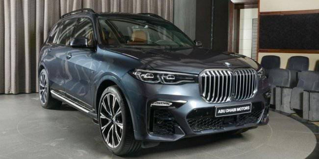 BMW X7 can do hydrogen