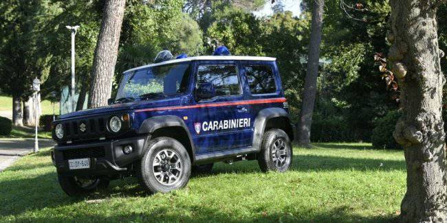 Updated Suzuki Jimny appeared in the service of the Italian carabinieri