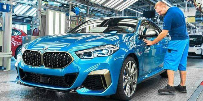 BMW 2 Series Gran Coupe goes into production