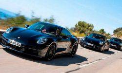 Porsche showed the new 911 Turbo