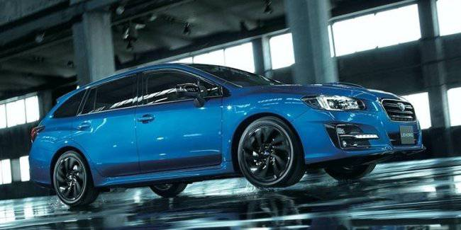 Subaru Levorg gets a sports version of the V-Sport