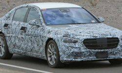 The new Mercedes-S-class noticed on tests