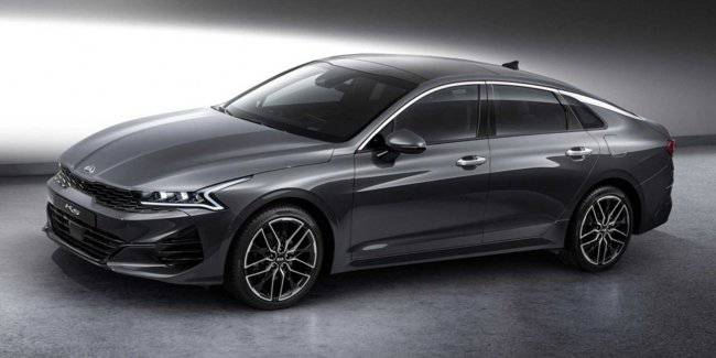 The appearance of the new KIA Optima fully declassified