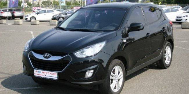 AIS offers a Hyundai IX35 diesel/automatic from Korea from 295 UAH 120!