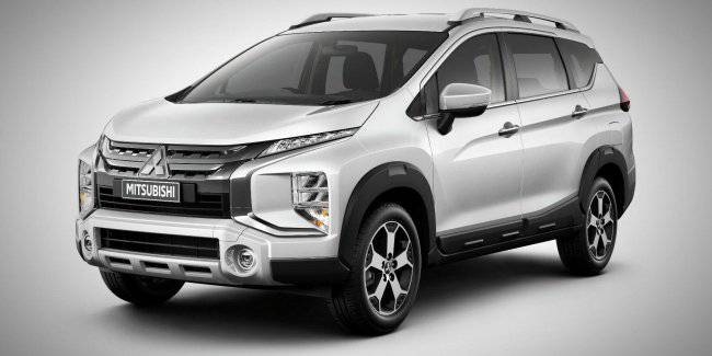Mitsubishi has officially unveiled a cross version of Xpander