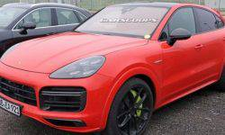 Porsche out on the tests hybrid Cayenne Turbo S