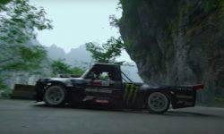 "Ken Block will ride on the 927-strong pickup truck on the ""road to heaven"""