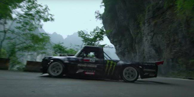 """Ken Block will ride on the 927-strong pickup truck on the """"road to heaven"""""""