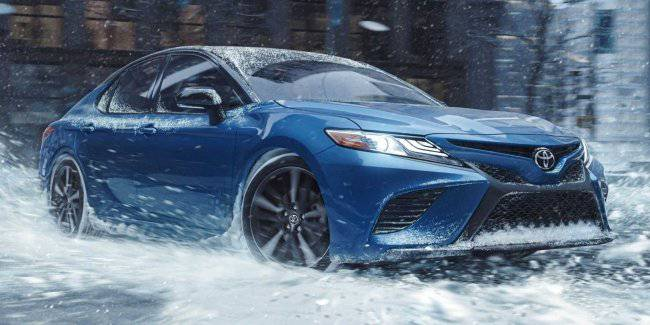 New modification Toyota Camry received a four-wheel drive RAV4 from