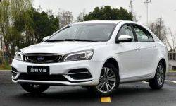 Sedan Geely Emgrand 7 will be dual fuel