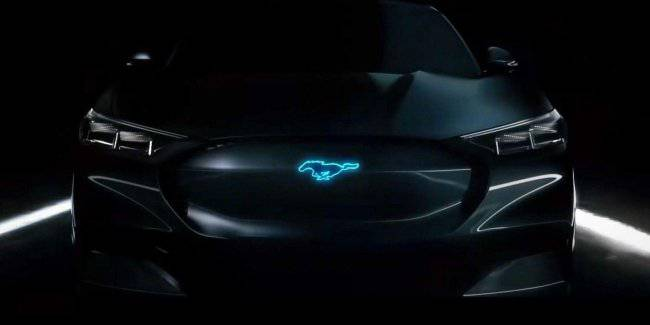 In the network appeared the photo of Ford Mustang Mach electrocreaser-E