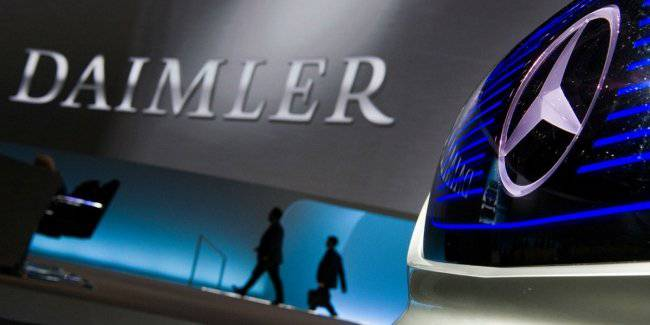 Daimler engaged in a security-unmanned taxi