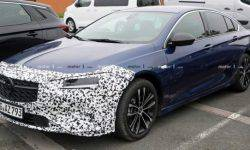 "In the Network appeared the first photos of the ""charged"" version of the Opel Insignia GSi"