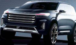 Chery revealed the design of its flagship crossover Exeed VX