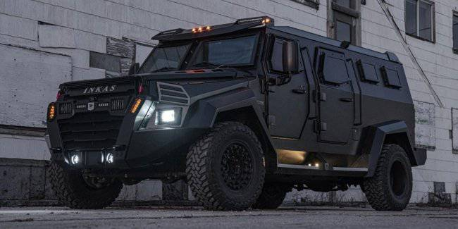 Inkas updated civilian version of the SUV Sentry