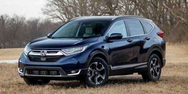 Honda is preparing for the premiere showing of the CR-V Hybrid