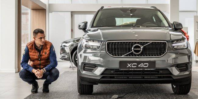 Chepachet: Volvo XC40. Special batch packing!