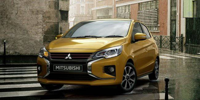 Mitsubishi revealed the Mirage design under Outlander