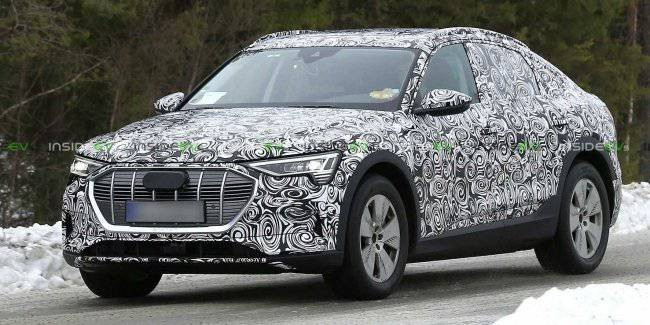Audi is preparing for the premiere show serial e-tron Sportback