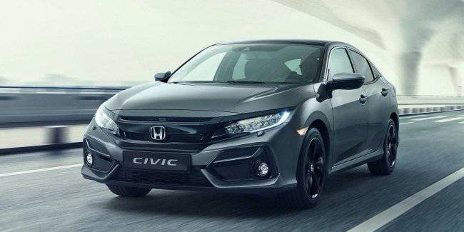 Honda unveils updated Civic for Europe