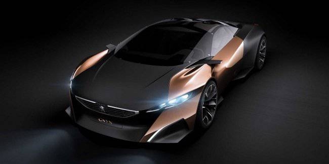Peugeot Onyx: unreal concept with a real racing motor