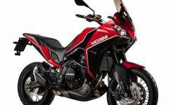 Moto Morini introduced curandero X-Cape