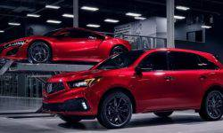 Acura will release a batch MDX manual Assembly